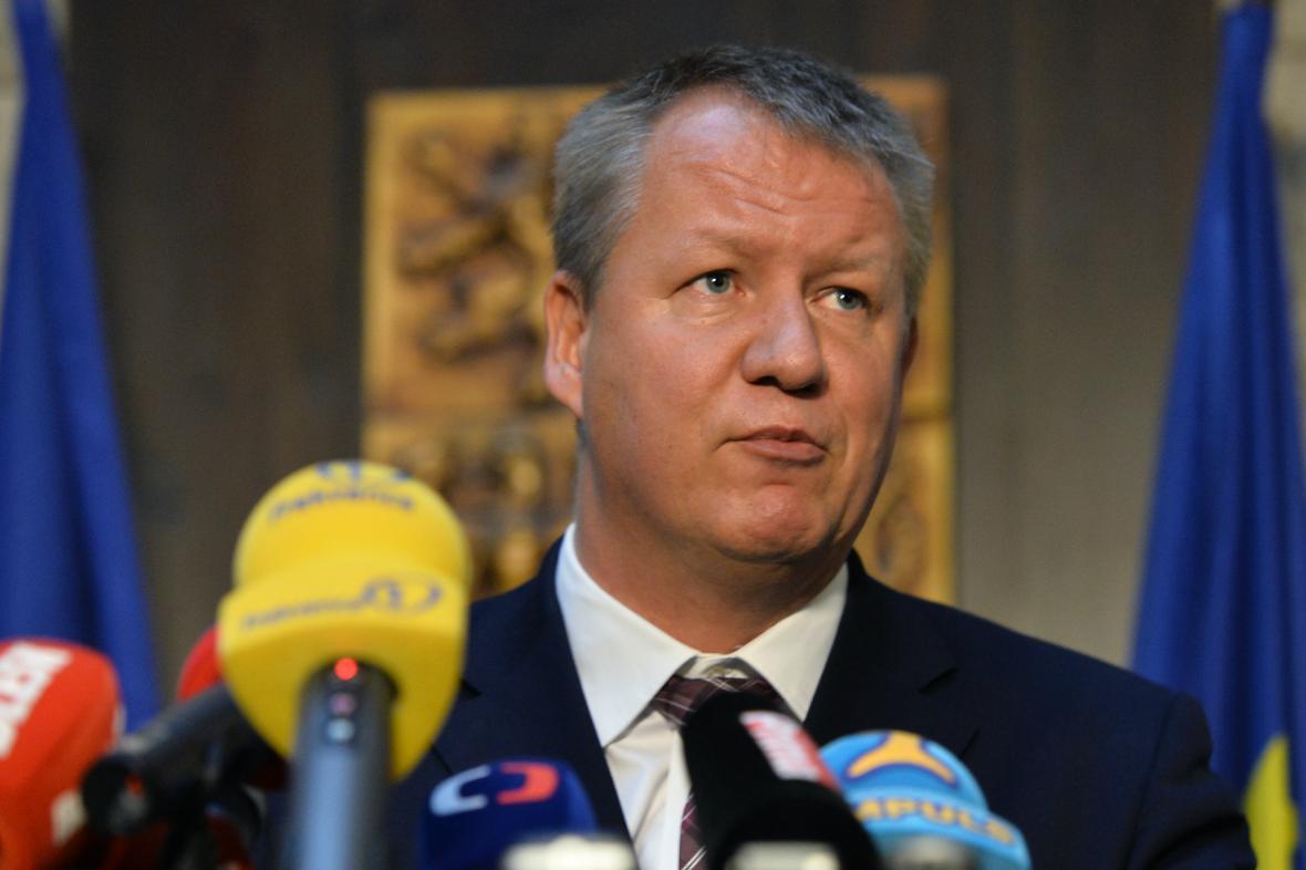Ministr zdravotnictví Svatopluk Němeček