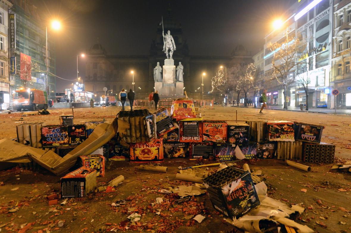 Silvestrovské oslavy v Praze