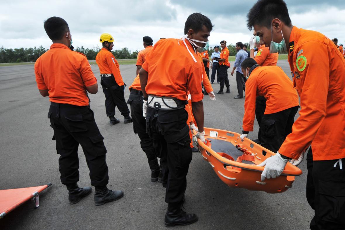Příprava indonéských záchranářů