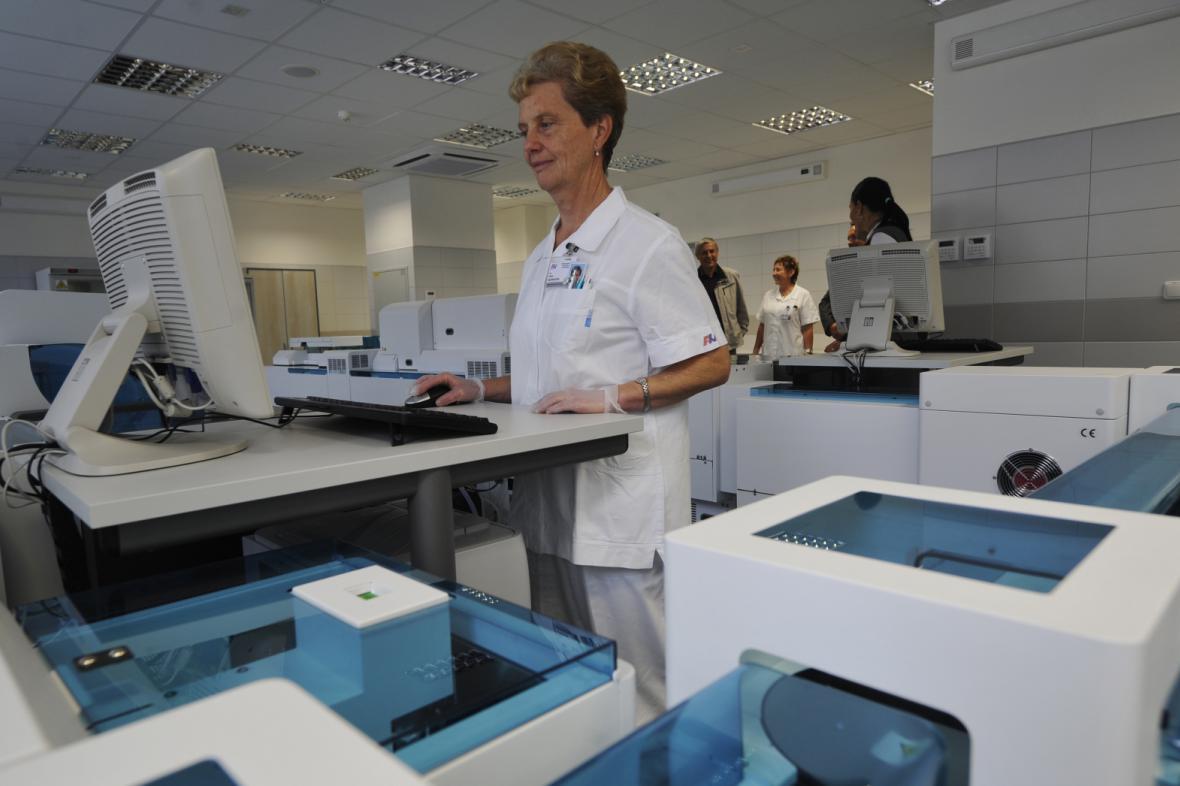 Nová laboratoř v plzeňské nemocnici