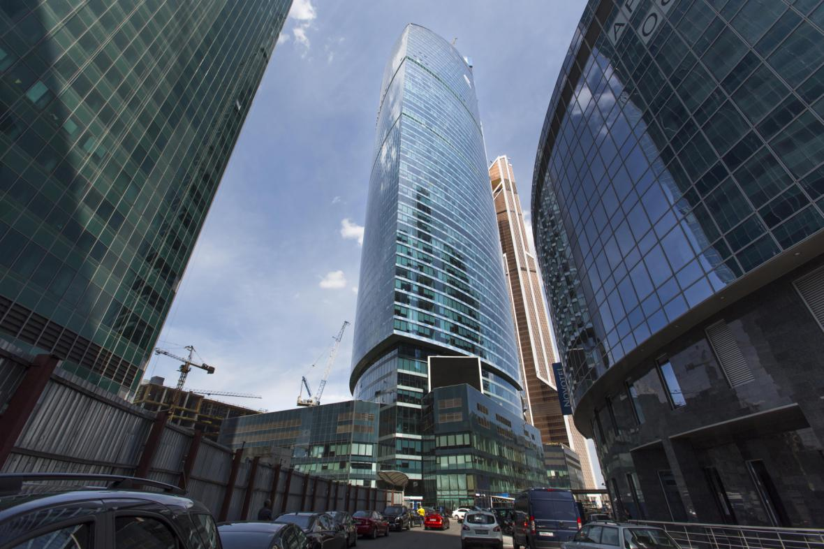 Centrála banky VTB v Moskvě