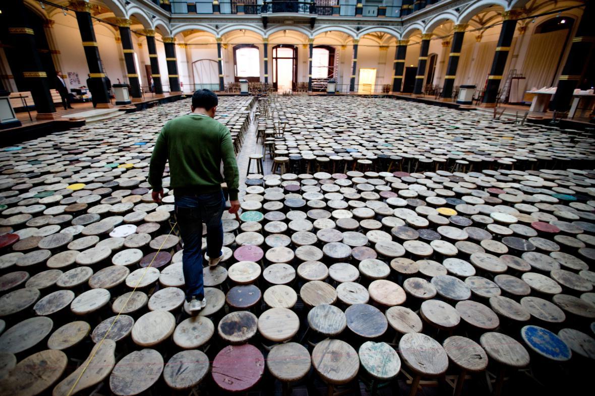 Výstava Aj Wej-weje v Berlíně
