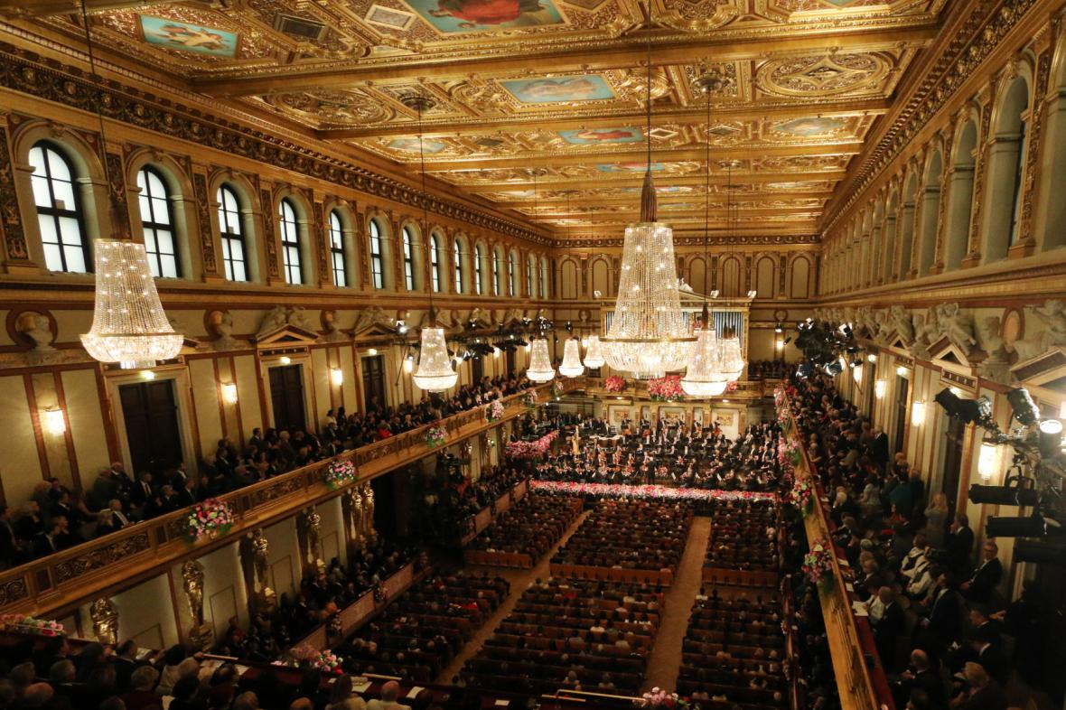 Novoroční koncert Vídeňských filharmoniků 2014