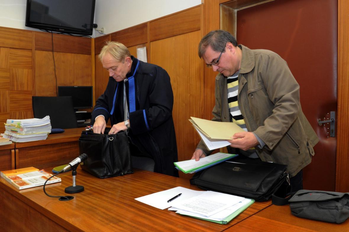 Jan Horníček u soudu