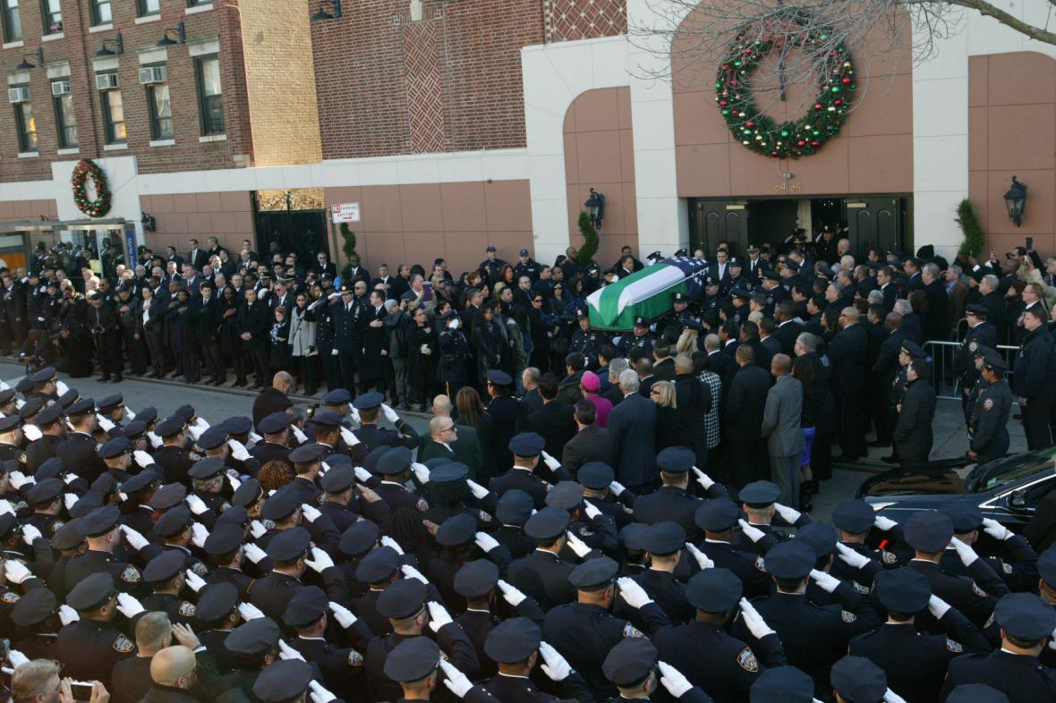 Pohřeb Rafaela Ramose