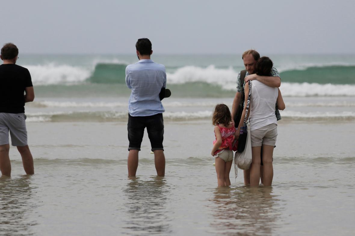 Uctění památky obětí vlny tsunami z Německa, Rakouska a Švýcarska