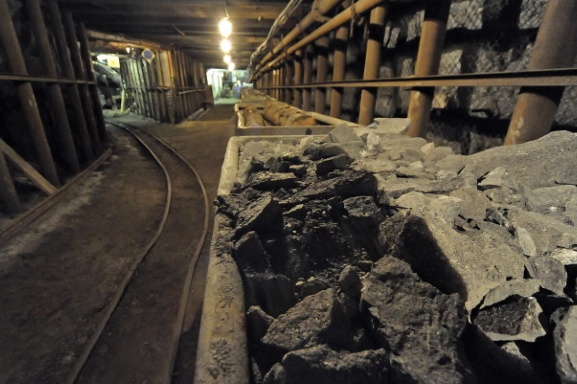 Uranový důl v Rožné