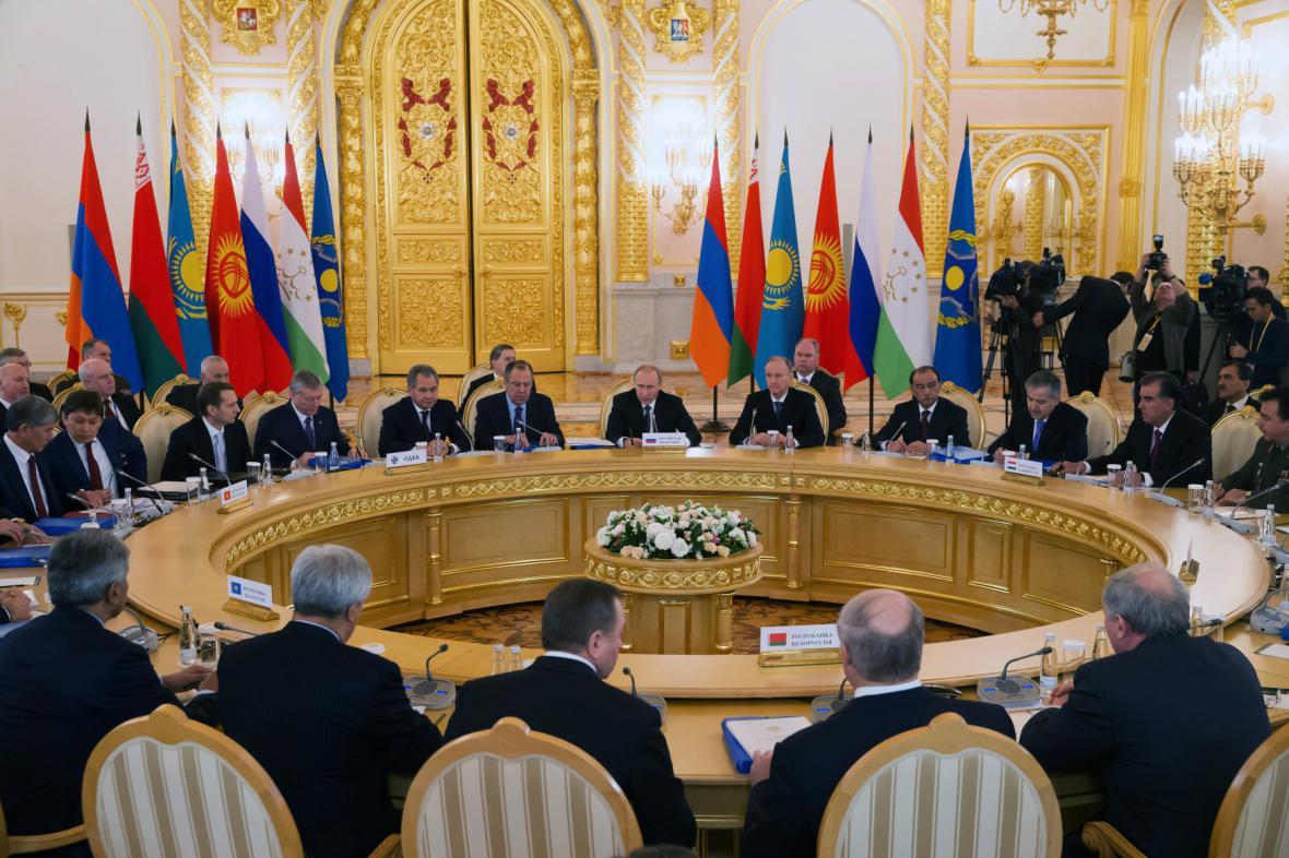 Setkání Organizace dohody o kolektivní bezpečnosti
