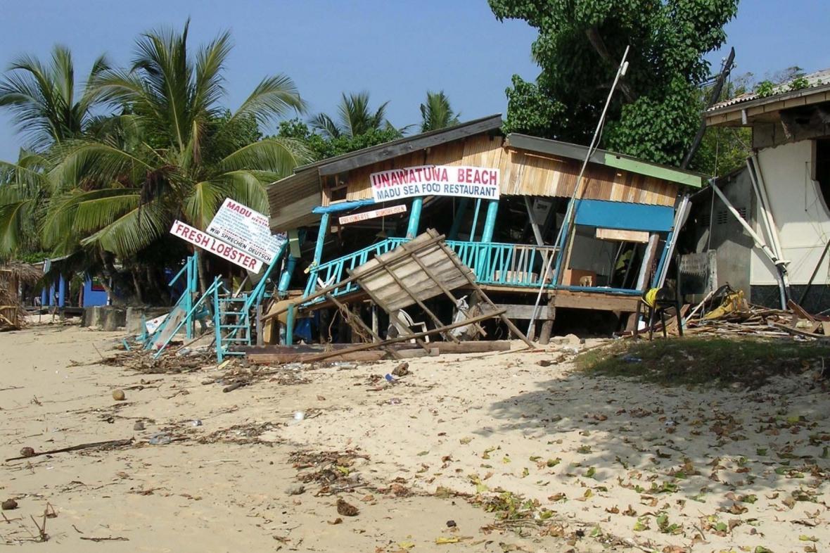 Tsunami v roce 2004