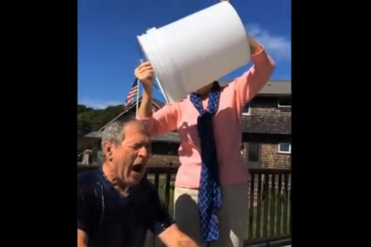 Ice Bucket Challenge George Bushe