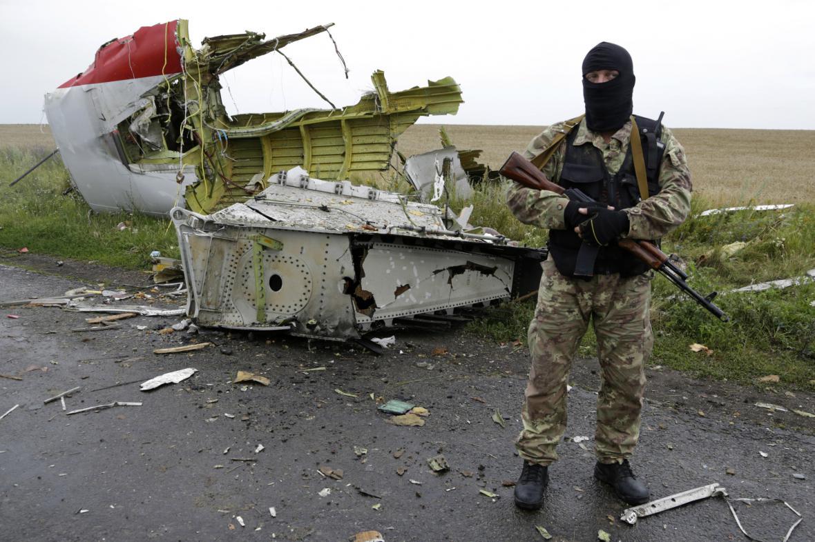 Pád boeingu na Ukrajině