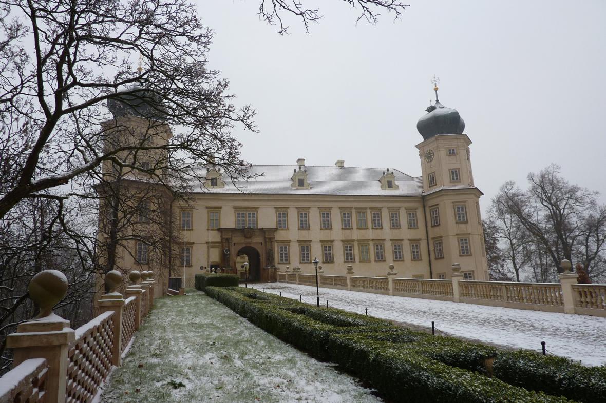Zámek v Mníšku pod Brdy