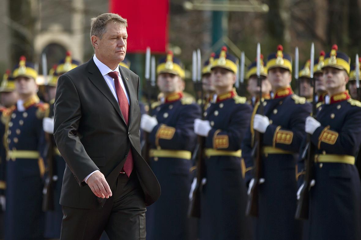 Rumunský prezident Klaus Iohannis se slavnostně ujal funkce
