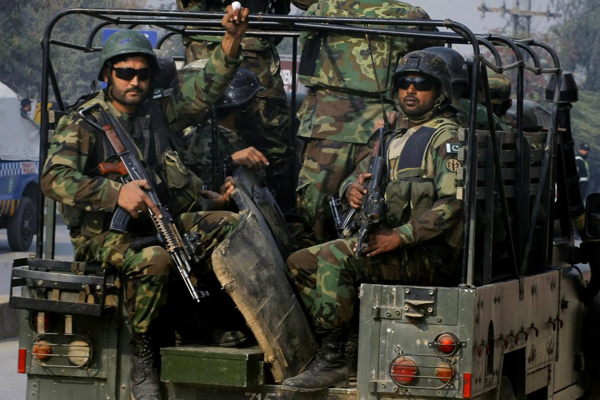 Pákistánští vojáci