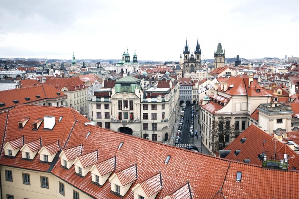 Pohled na pražský magistrát