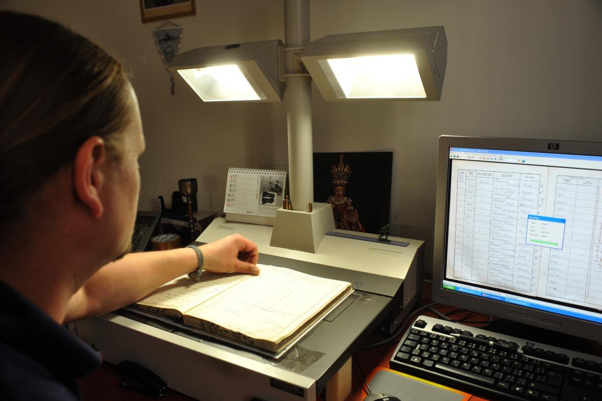 Digitalizace Archivu bezpečnostních složek