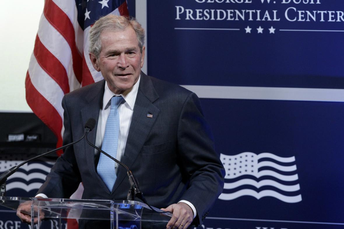 Americký exprezident George W. Bush