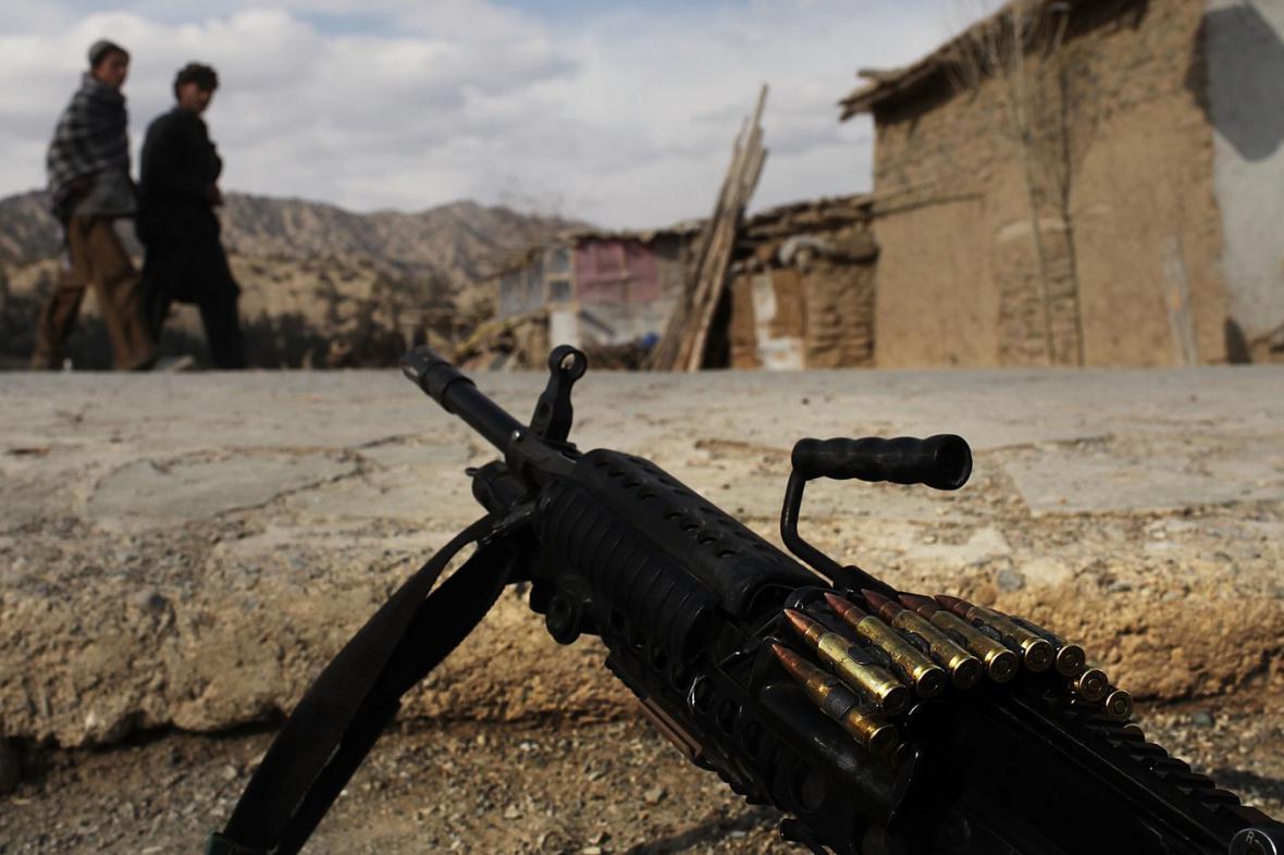 Boj proti Talibanu