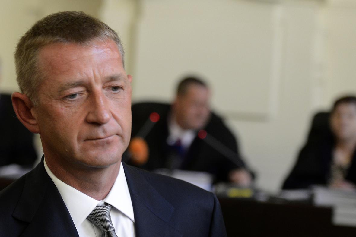 Roman Janoušek u soudu