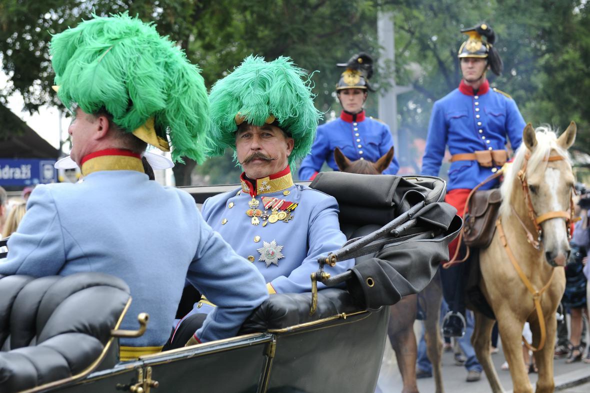 Brněnská rekonstrukce sarajevského atentátu