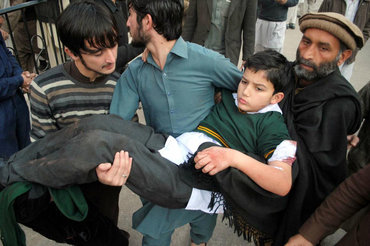 Útok na školu v Pákistánu
