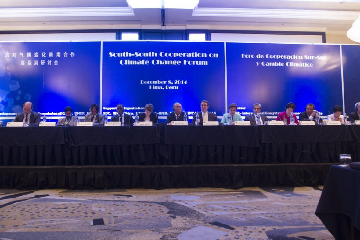 Klimatická konference v Limě