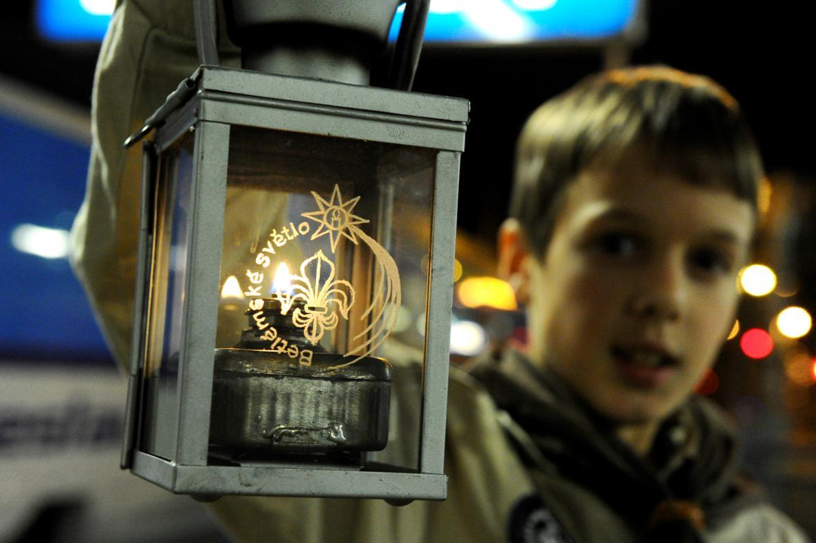 Betlémské světlo v Česku