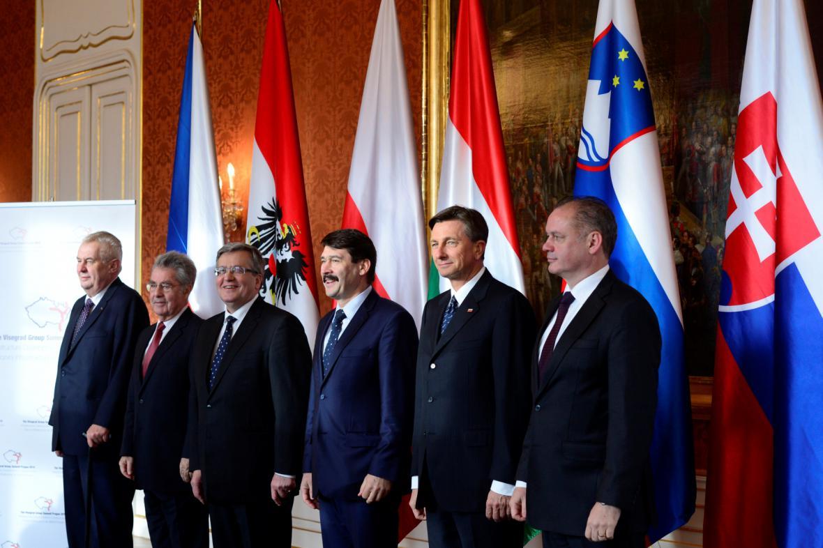 Středoevropští prezidenti