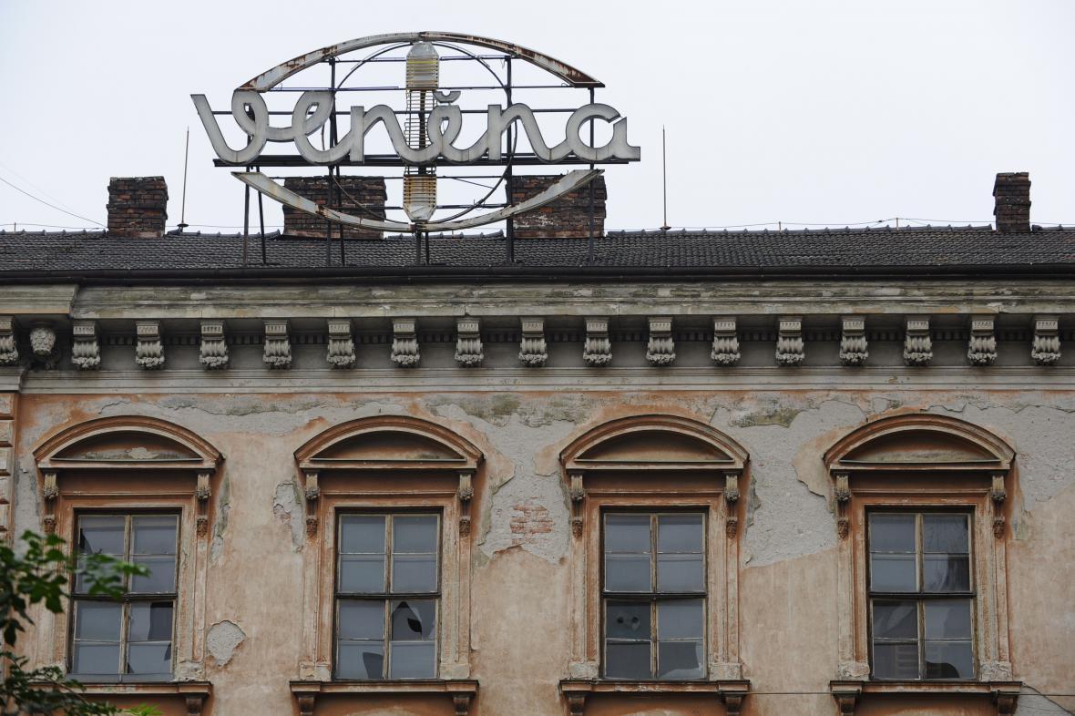 Komplex bývalé továrny Vlněna