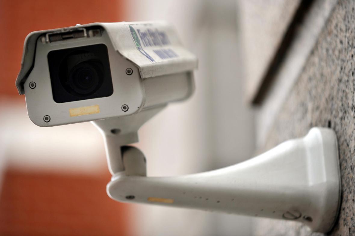 Kamera známého systému CCTV v Londýně
