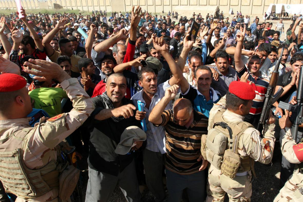 Irácká armáda verbuje do boje proti ISIL dobrovolníky