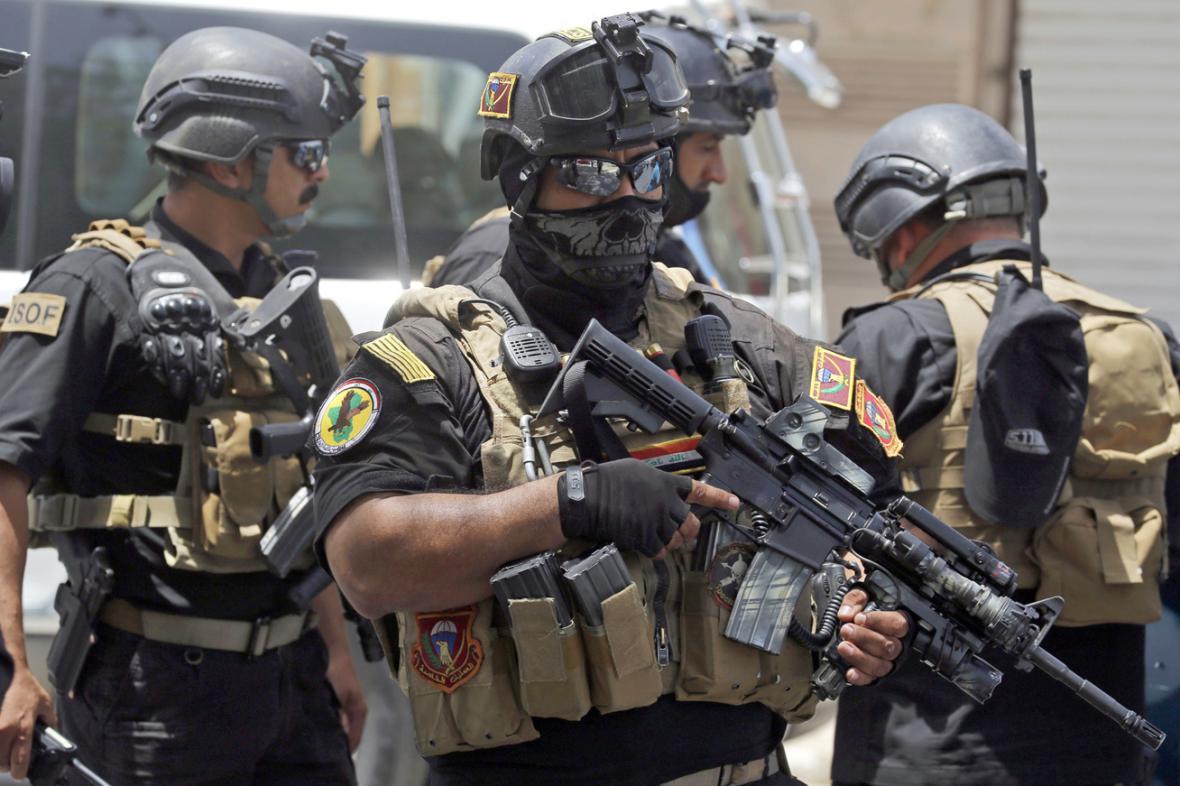 Irácké speciální jednotky