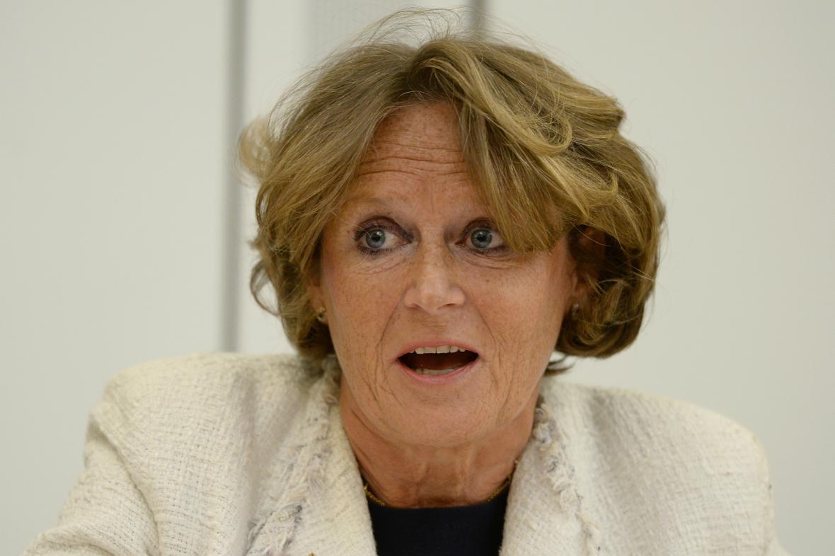 Britská poslankyně Anne Jenkinová