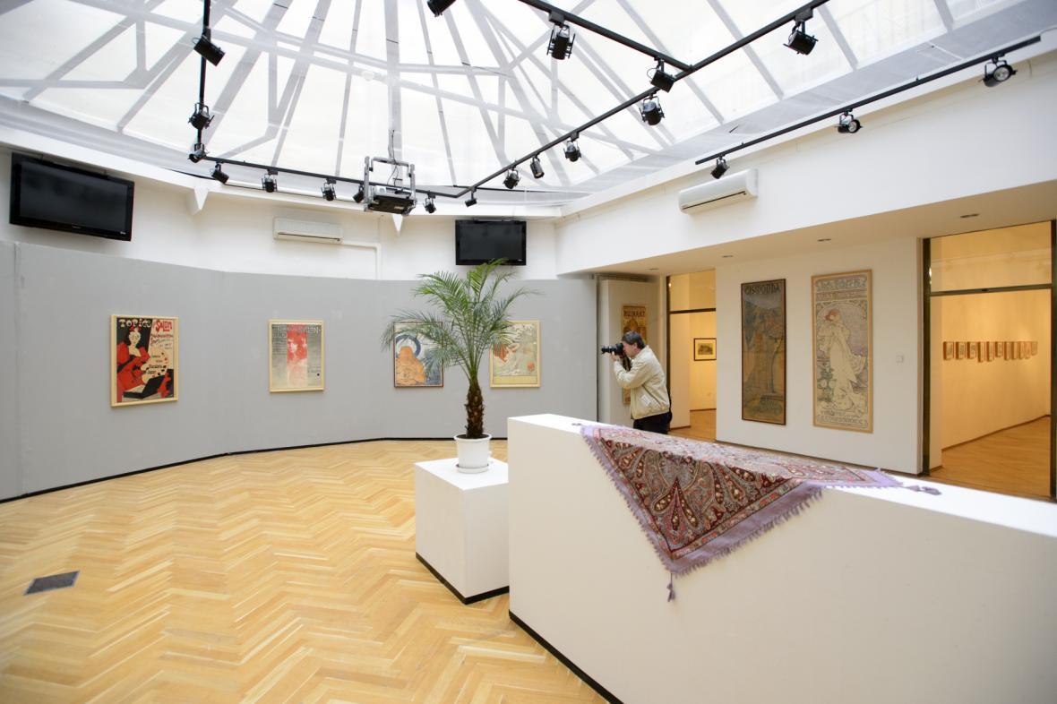 Výstava ke 120. výročí Topičova salonu
