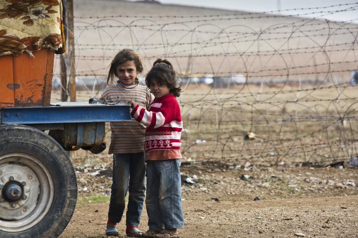 Humanitární krize v Sýrii