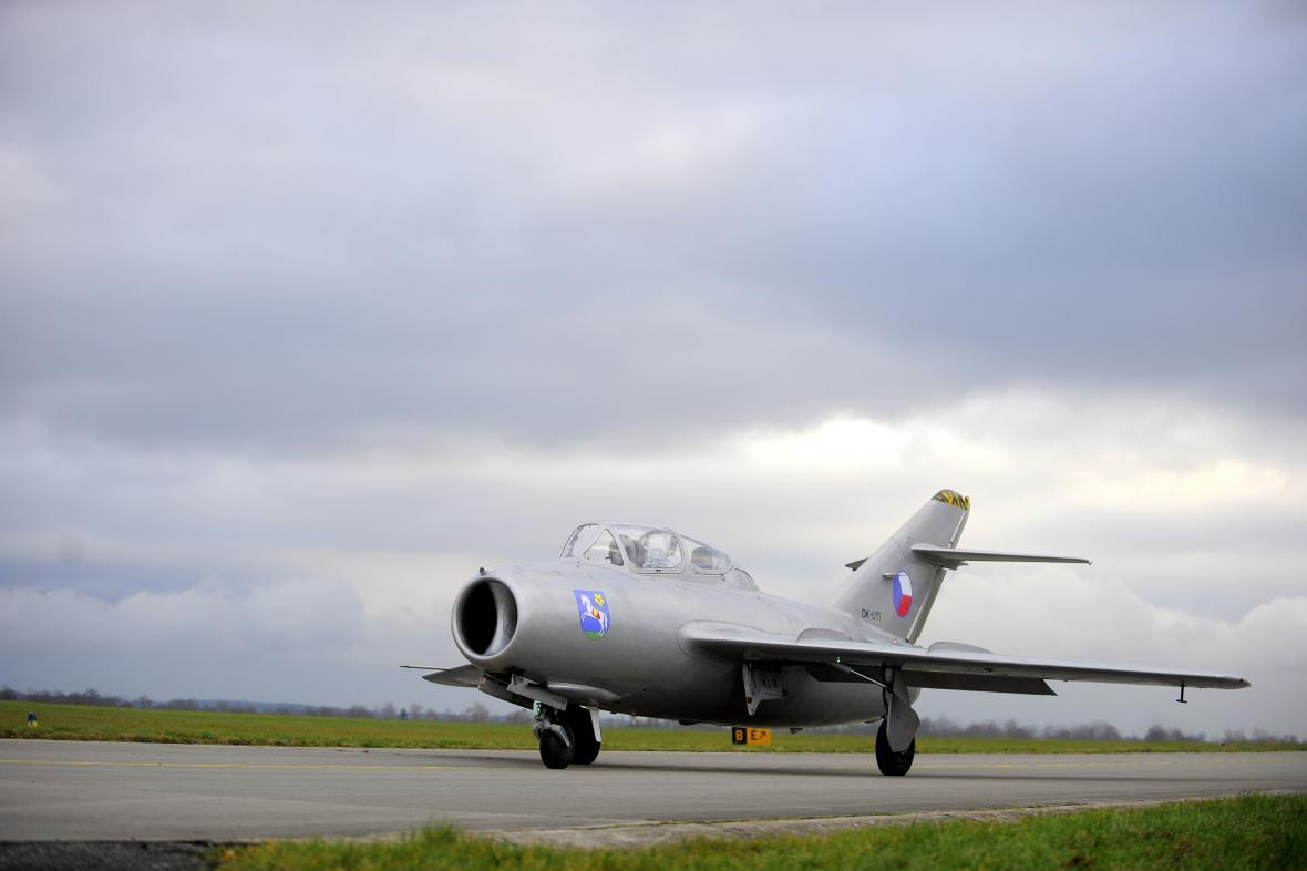 Zrekonstruovaný letoun MiG-15