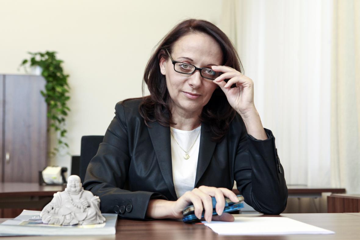 Primátorka Adriana Krnáčová