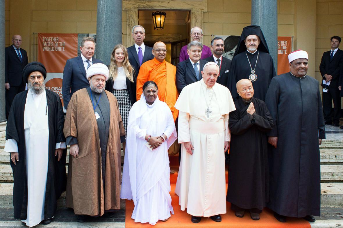 František pozval do Vatikánu představitele světových církví