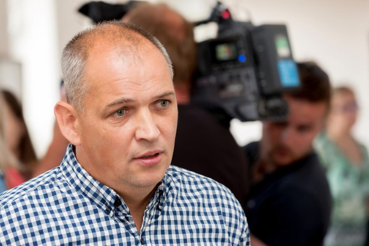 Obžalovaný Šimon Kramarčík