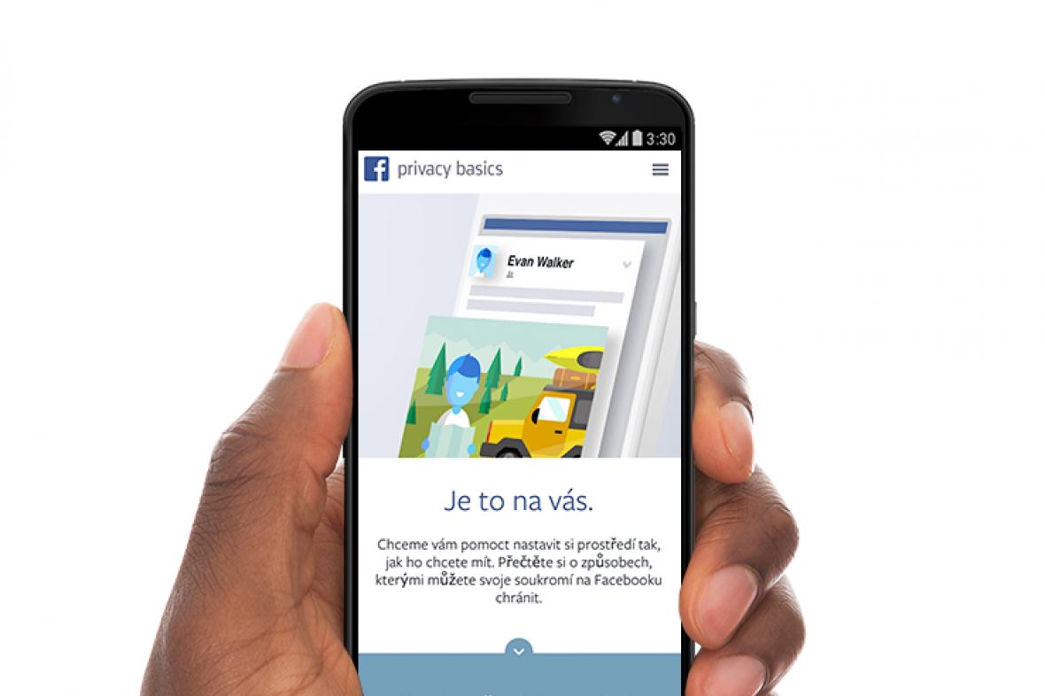 Nové podmínky na Facebooku