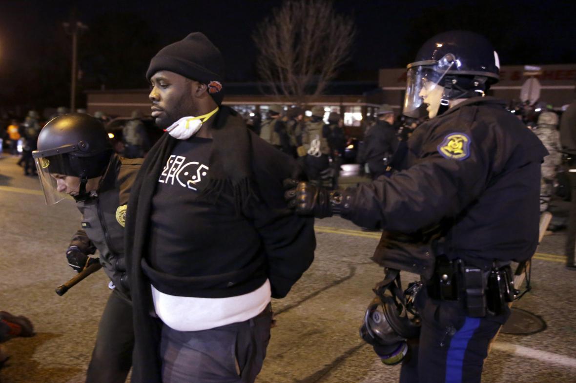 Zatýkání ve Fergusonu