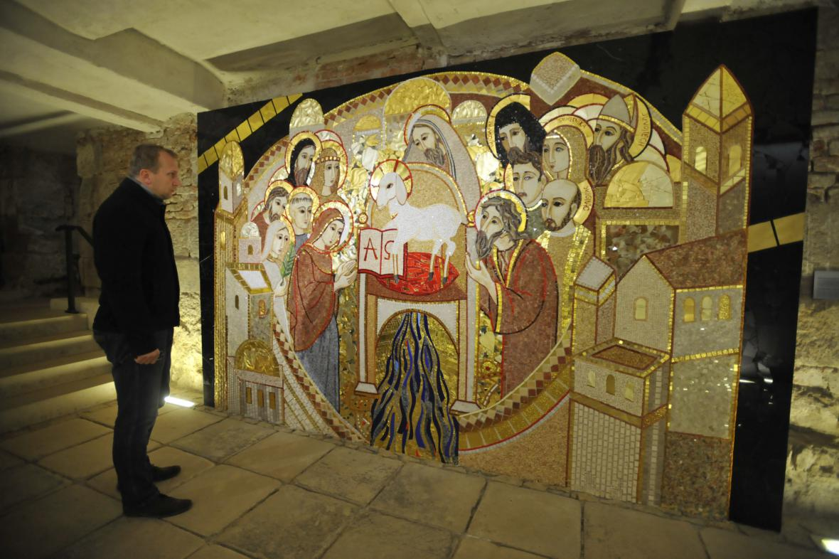 Areál velehradské baziliky