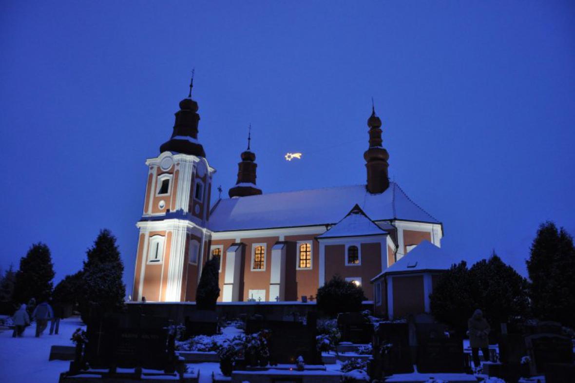 Kostel v Rozsochách