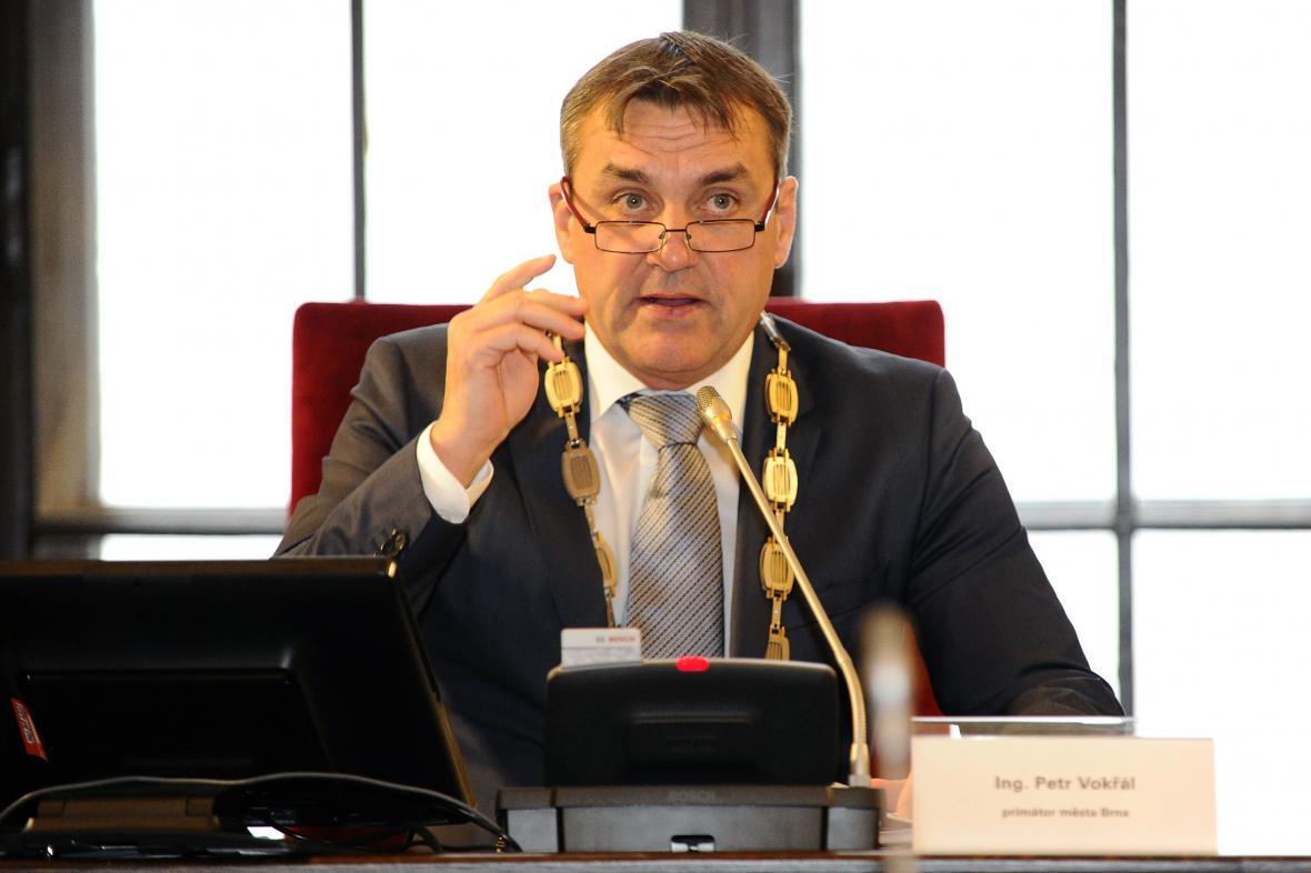 Petr Vokřál (ANO) se stal novým primátorem Brna