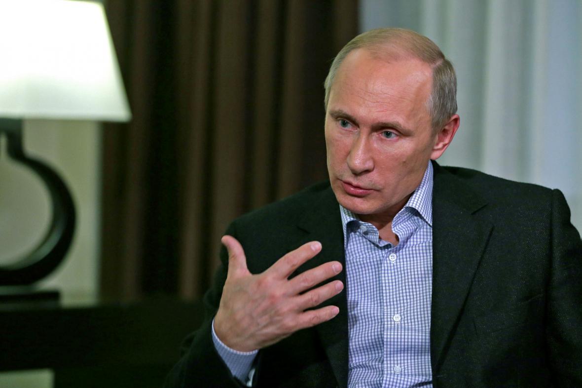 Vladimir Putin v rozhovoru pro TASS