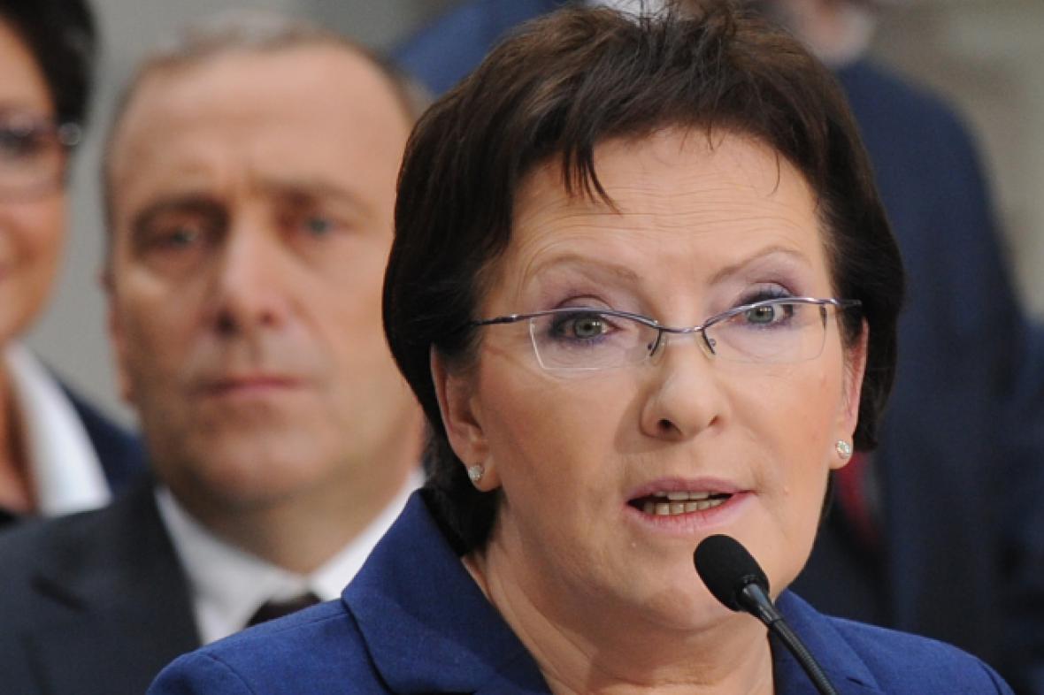 Premiérka Kopaczová