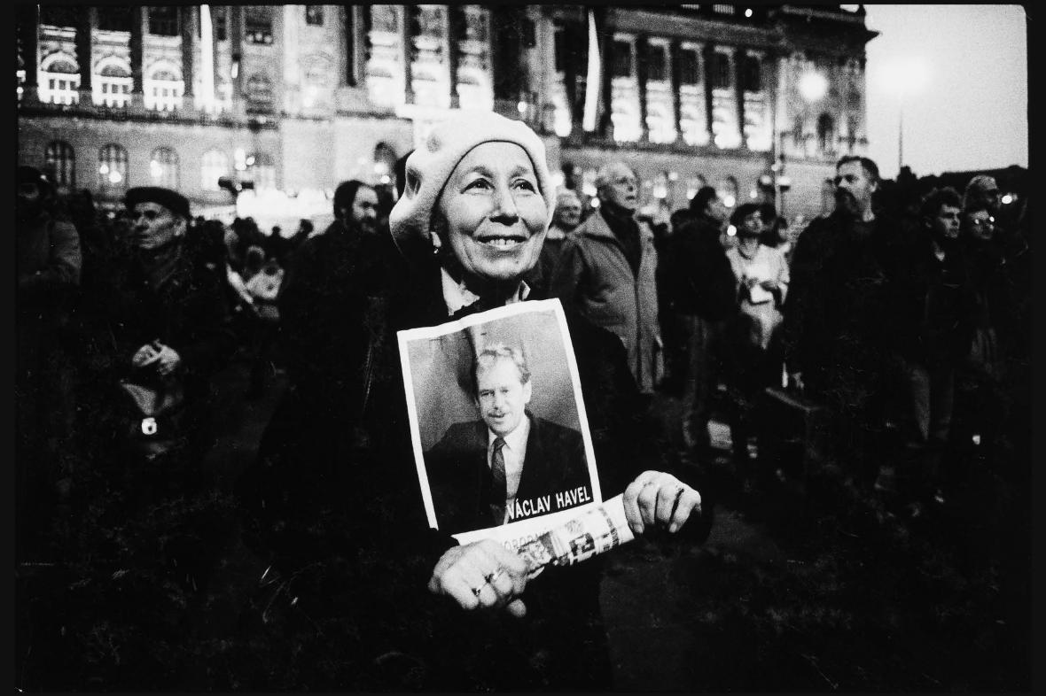 Karel Cudlín / Sametová revoluce, 1989