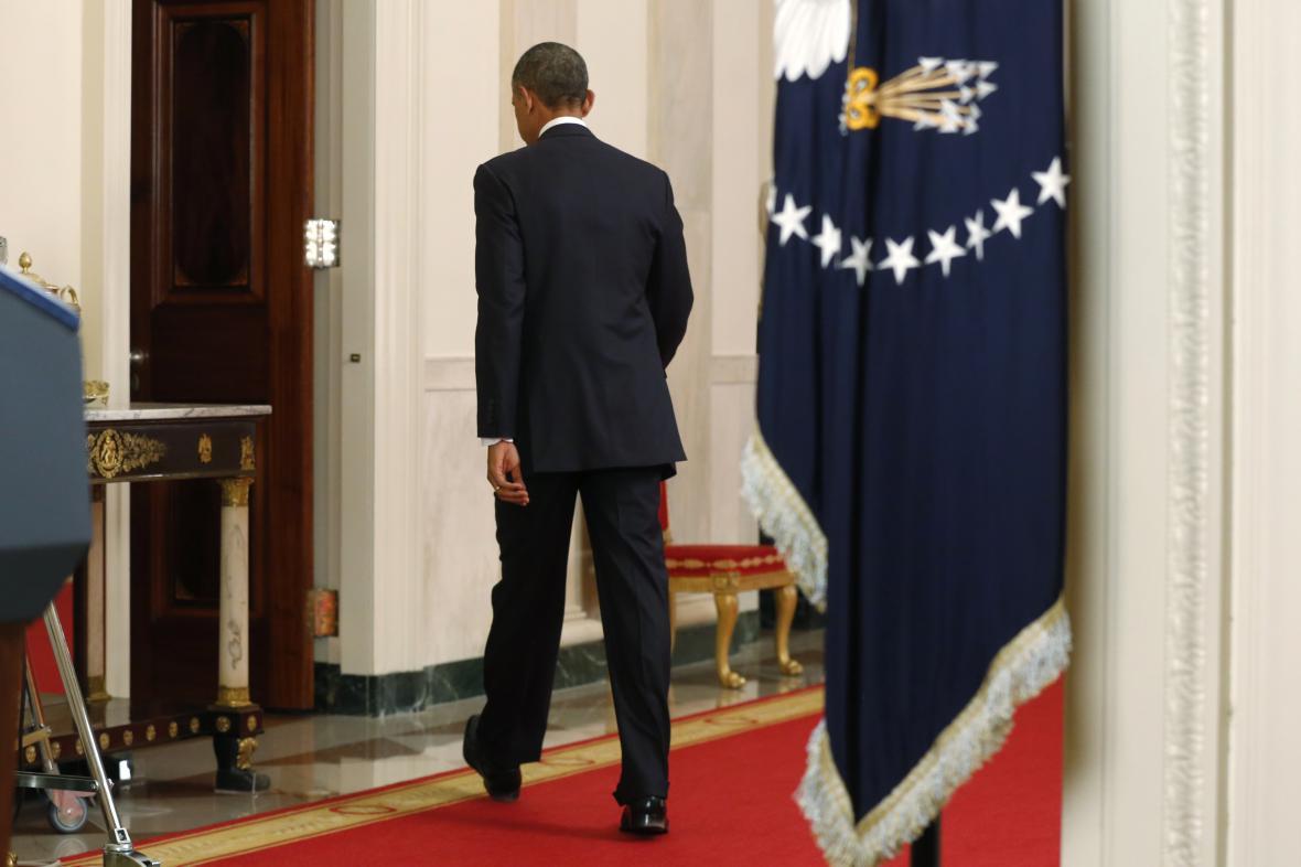 Barack Obama po televizním projevu k imigrační reformě