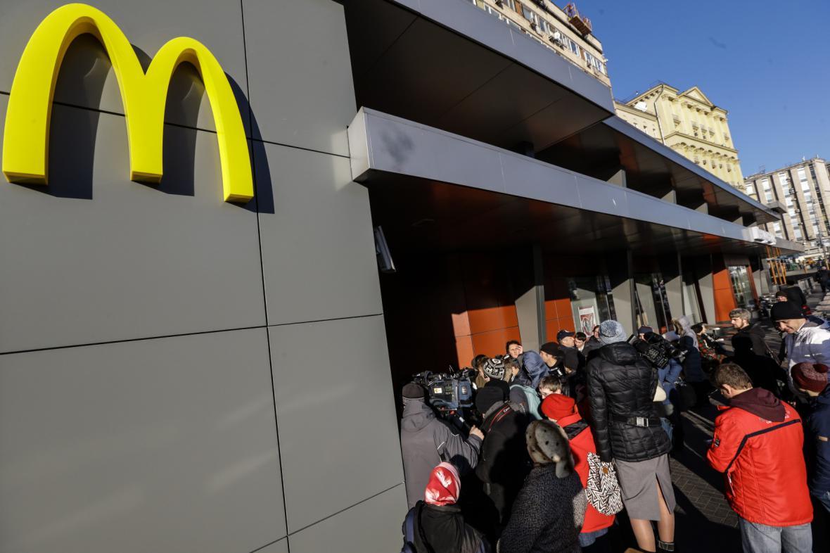 Znovuotevření nejstarší ruské restaurace McDonald's v Moskvě
