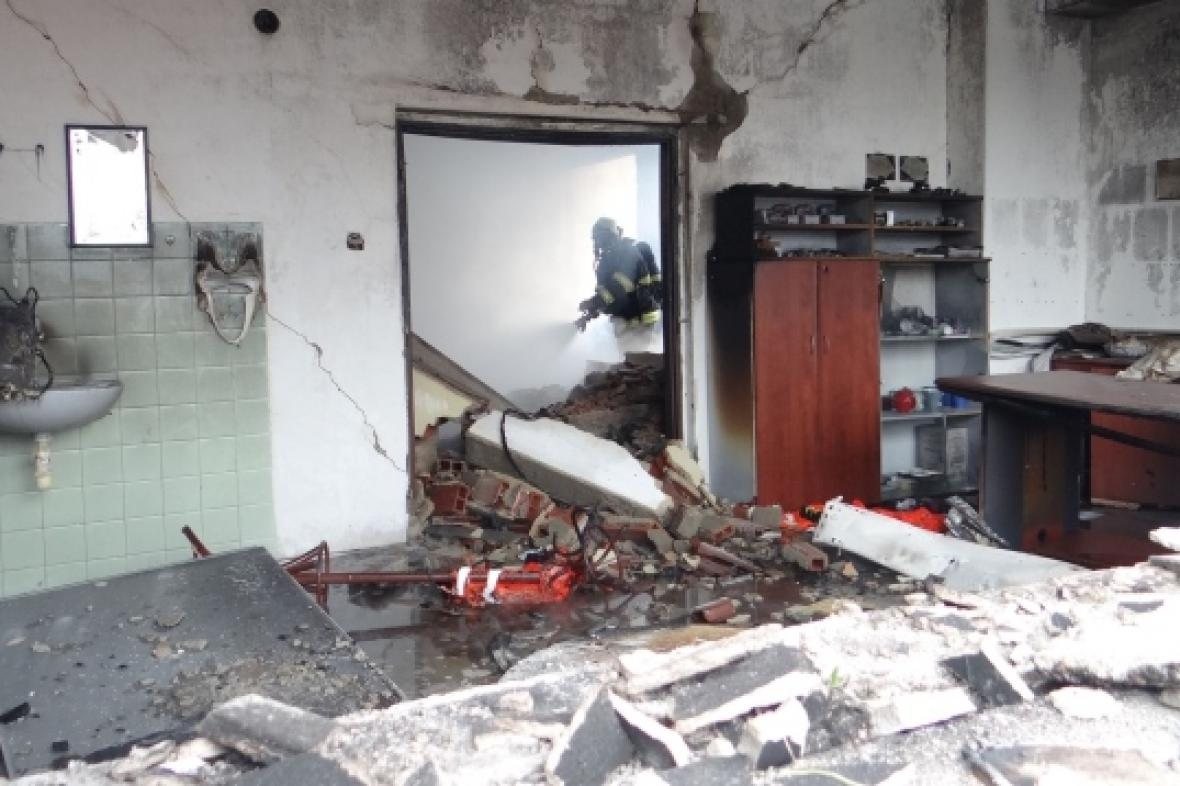 Výbuch v Paskově